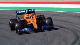 Carlos Sainz, en el GP de la Toscana de Fórmula 1