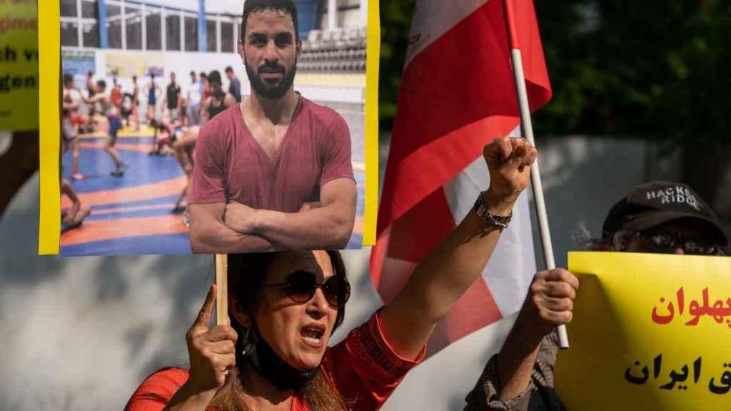 Imágenes de las protestas contra la ejecución de Afkarí