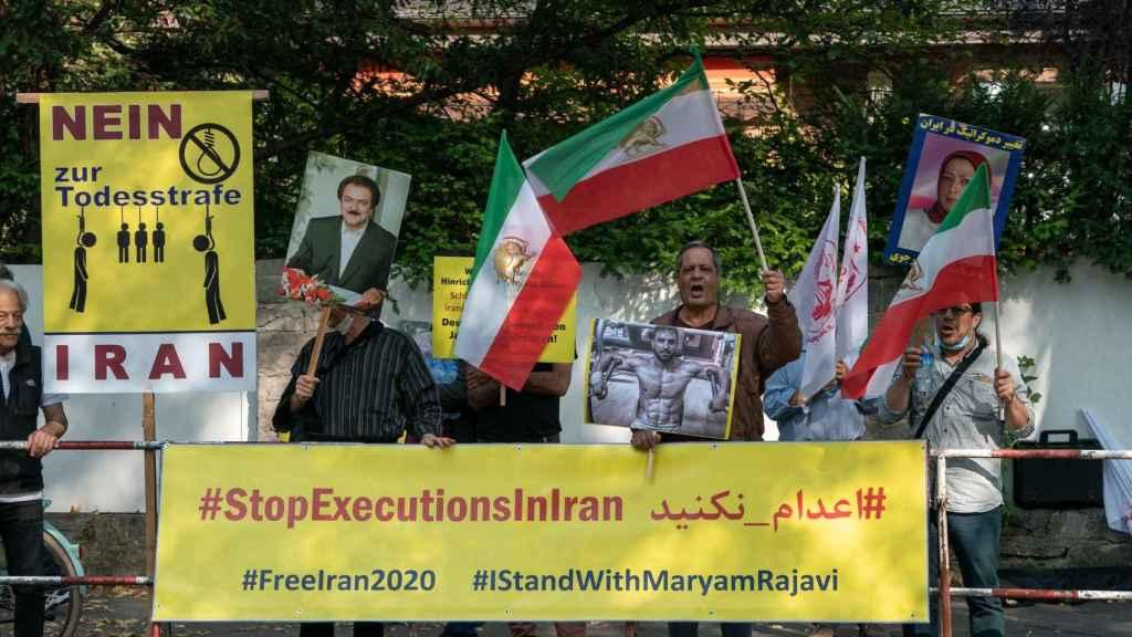Protestas contra la ejecución de Afkarí