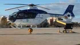 En el operativo se movilizó un helicóptero medicalizado aunque finalmente fue trasladado en ambulancia