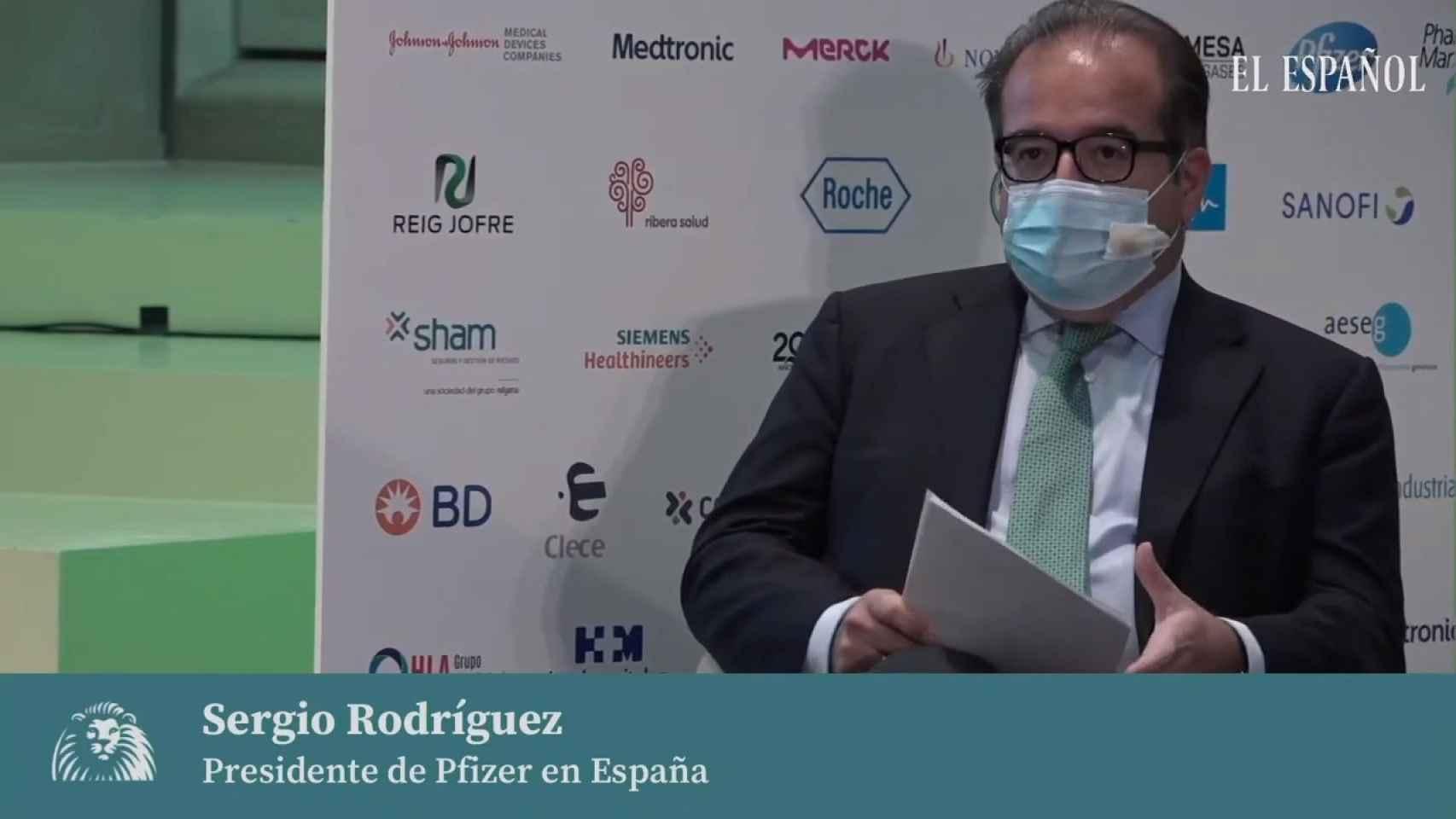 Intervención Sergio Rodríguez, I Simposio Observatorio de la Sanidad