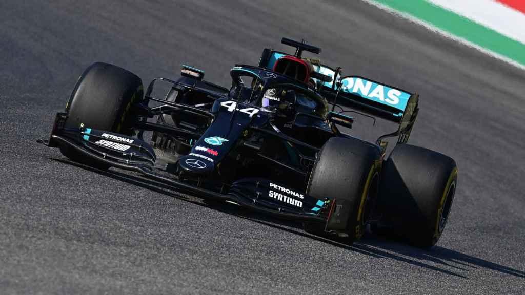 Lewis Hamilton, durante el Gran Premio de la Toscana de Fórmula 1 en Mugello