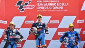 Marini vuelve a ganar y aumenta su liderazgo en Moto2