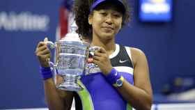 Osaka, con el título de campeona del US Open.