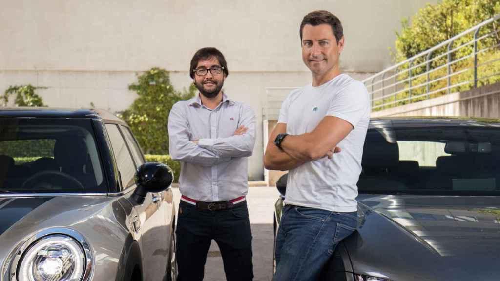 Carlos y Pablo son los confundadores de Clicars, que cuenta con el Grupo PSA como accionista.