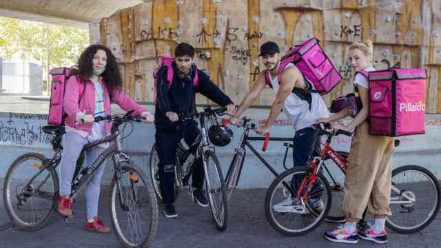 Parte del reparto de 'Riders' (RTVE)