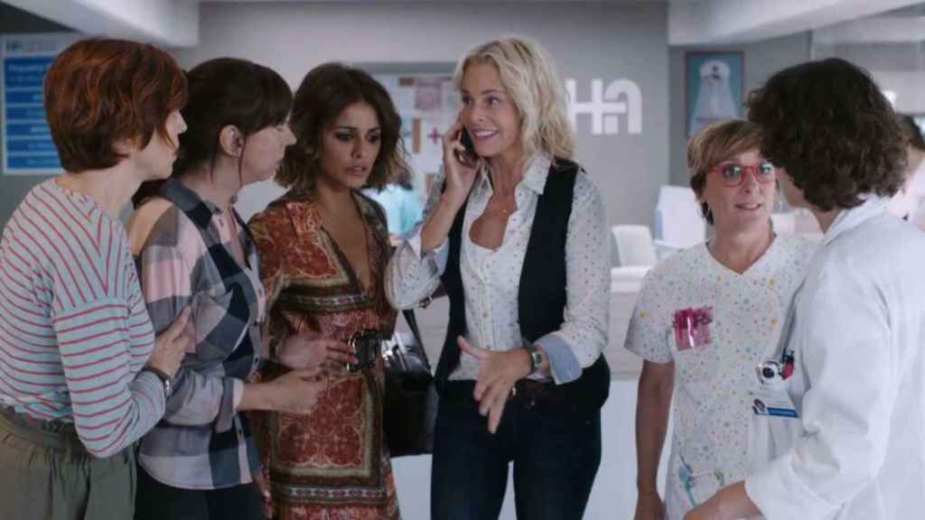 Imagen de la serie 'Madres' (Mediaset)