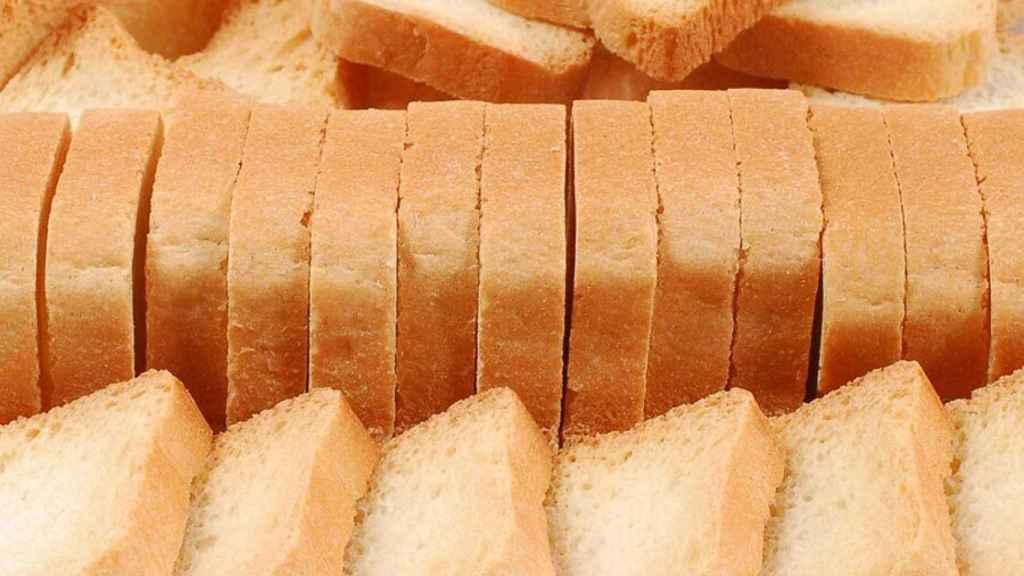 Unas tostadas como las que podemos encontrar en los supermercados.