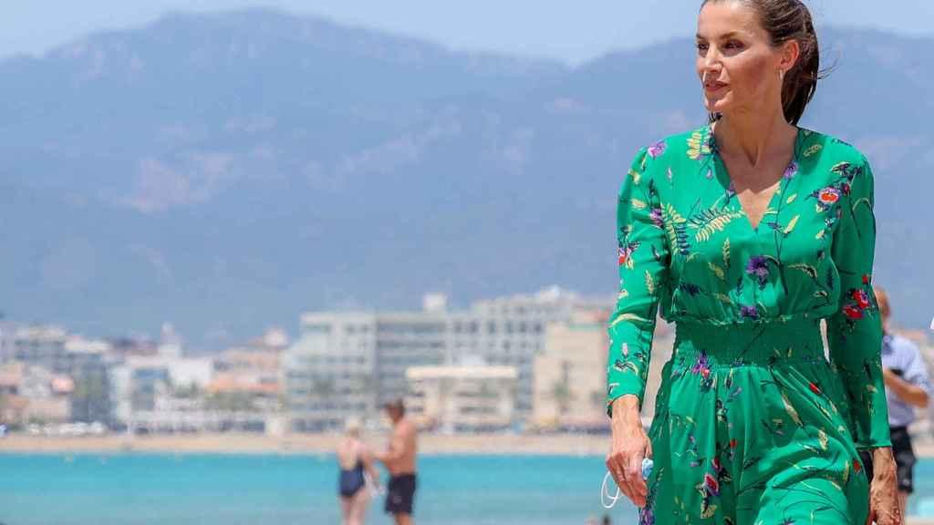 La reina Letizia en Palma de Mallorca el pasado mes de julio.