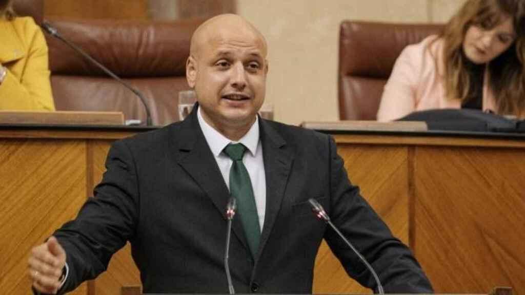 Rodrigo Alonso, secretario general de Solidaridad y diputado de Vox en el Parlamento de Andalucía.