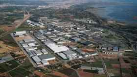 Un polígono industrial.