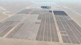 Imagen de la planta solar puesta en marcha por Solarpack en Chile.