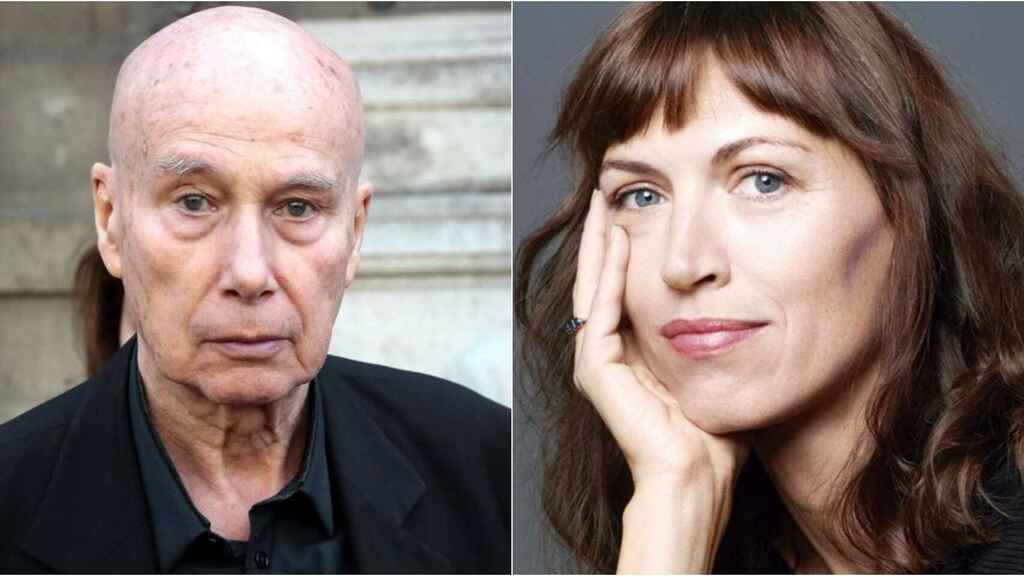 Gabriel Matzneff y Vanessa Springora.