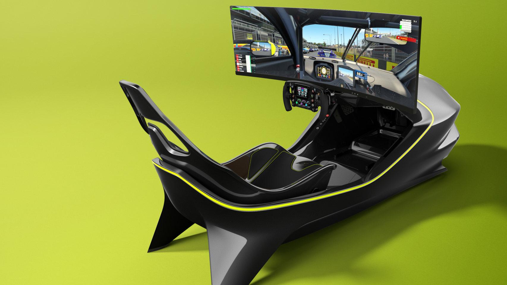 Simulador de Aston Martin