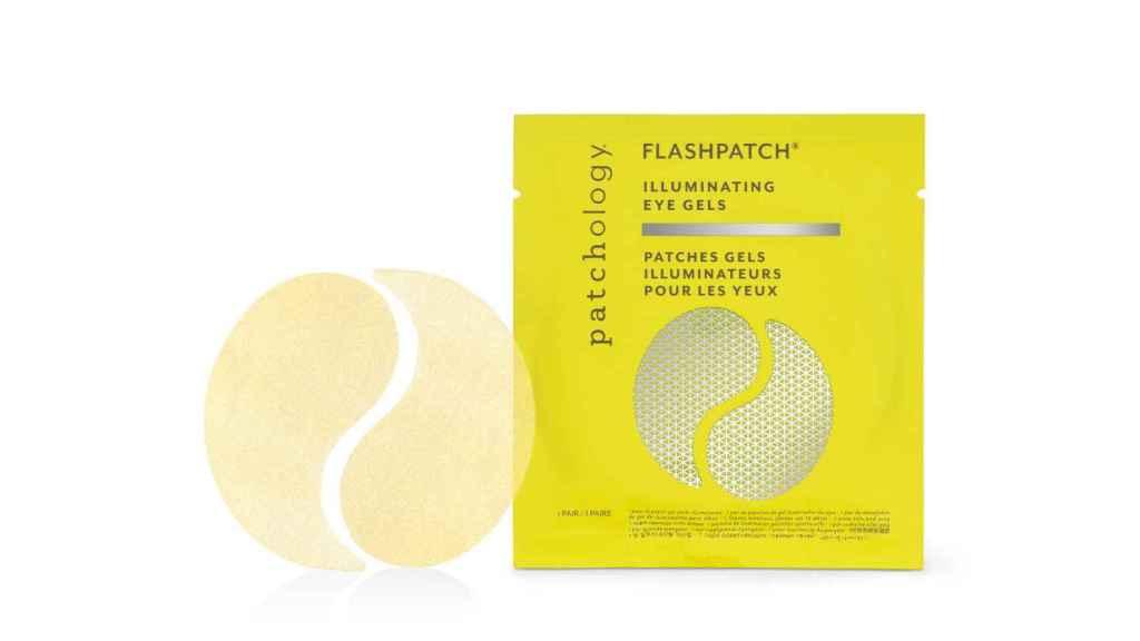 Los parches de ojos Flashpatch Rejuvenating Eye Gels de Patchology.