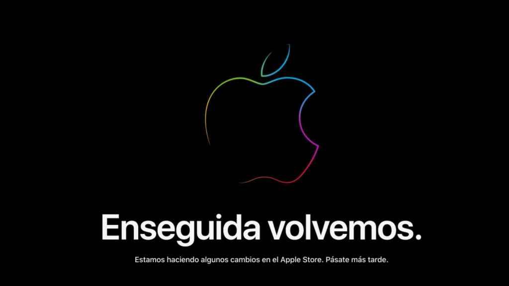Apple online store cerrada