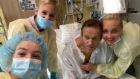 Navalny y su familia en su cuenta de Instagram.