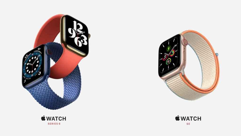 Nuevos relojes de Apple