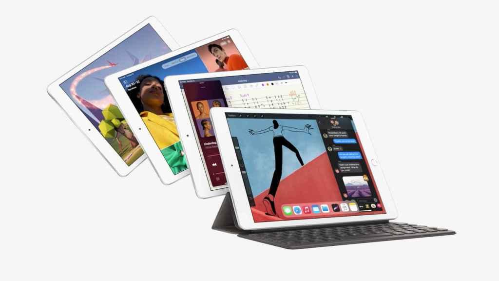 Nuevo iPad de octava generación.