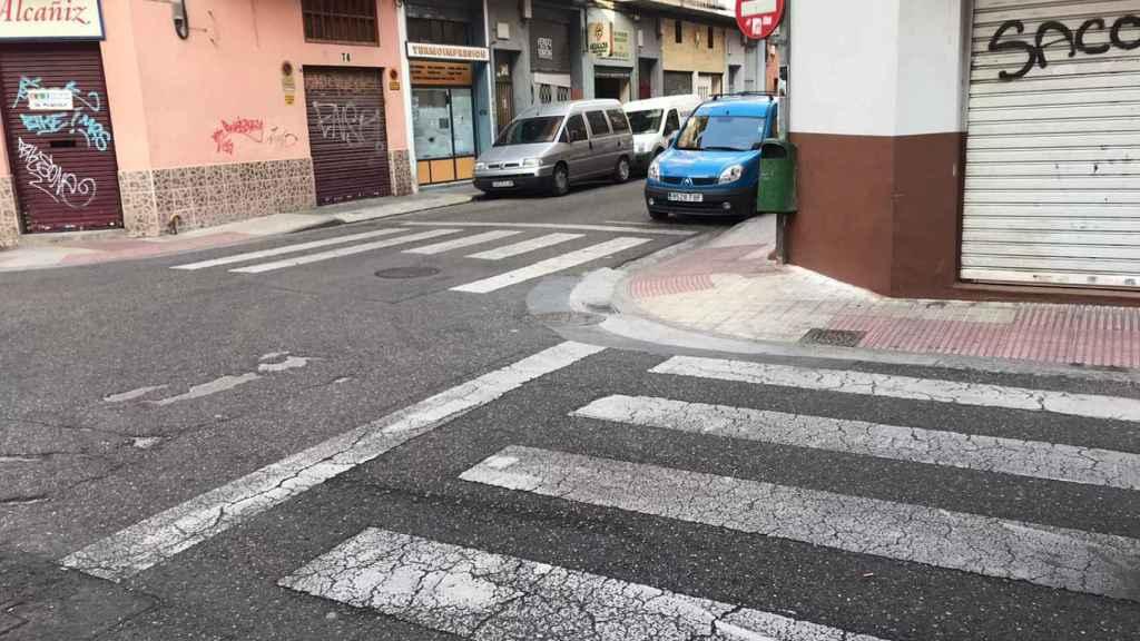 La menor fue atendida en la intersección de las calles Alcañiz y Domingo Ram
