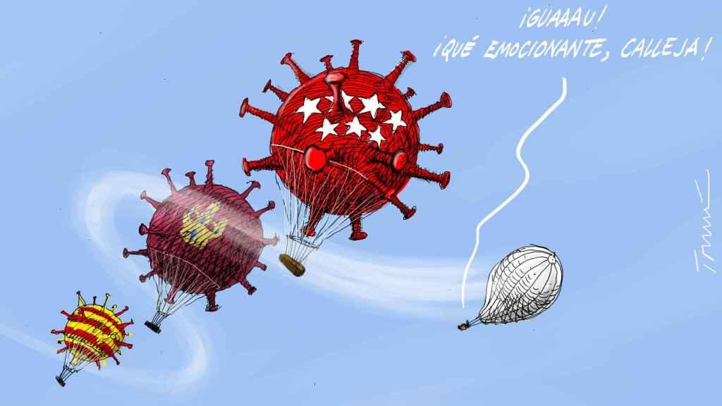 Viajes en globo. Tomás Serrano.
