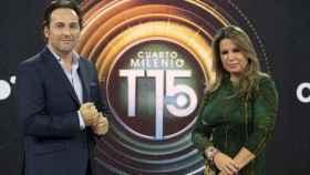 Íker Jiménez y Carmen Porter (Mediaset)