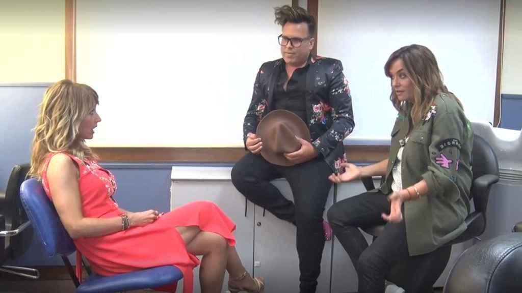 Emma García, Torito y Toñi Moreno en 'Viva la vida'