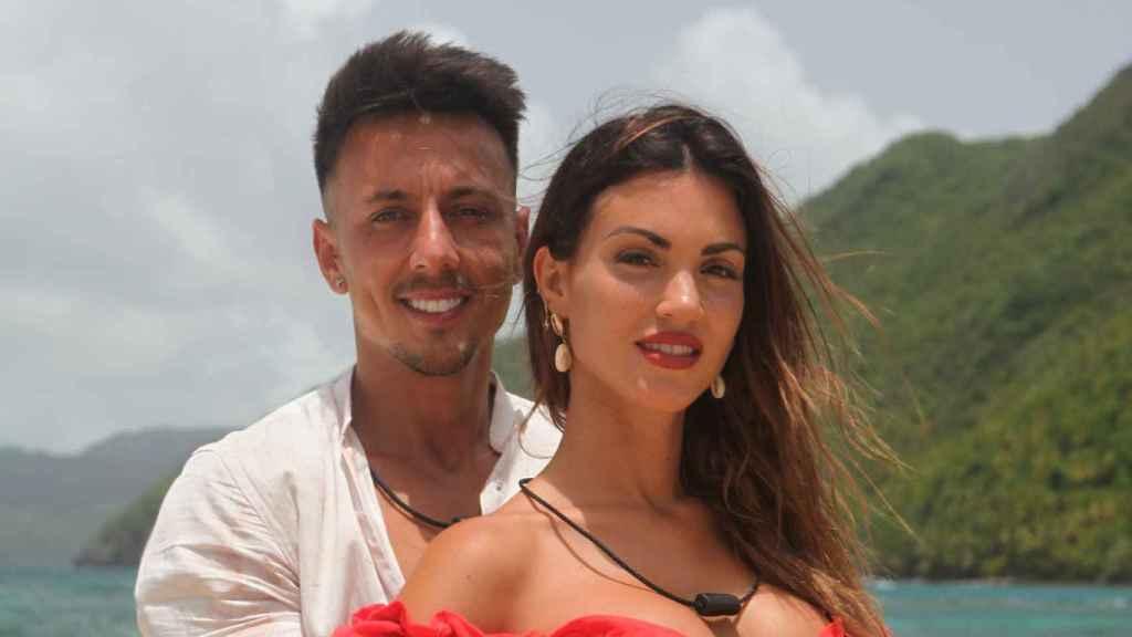 La relación de Melodie y Cristian nació de una infidelidad hace nueve años.