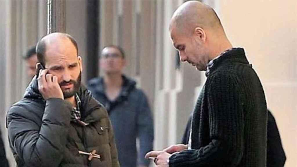 Los hermanos Guardiola, Pere y Pep