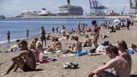 Playa de Málaga capital