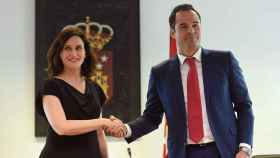 Isabel Díaz Ayuso e Ignacio Aguado, en una foto de archivo.