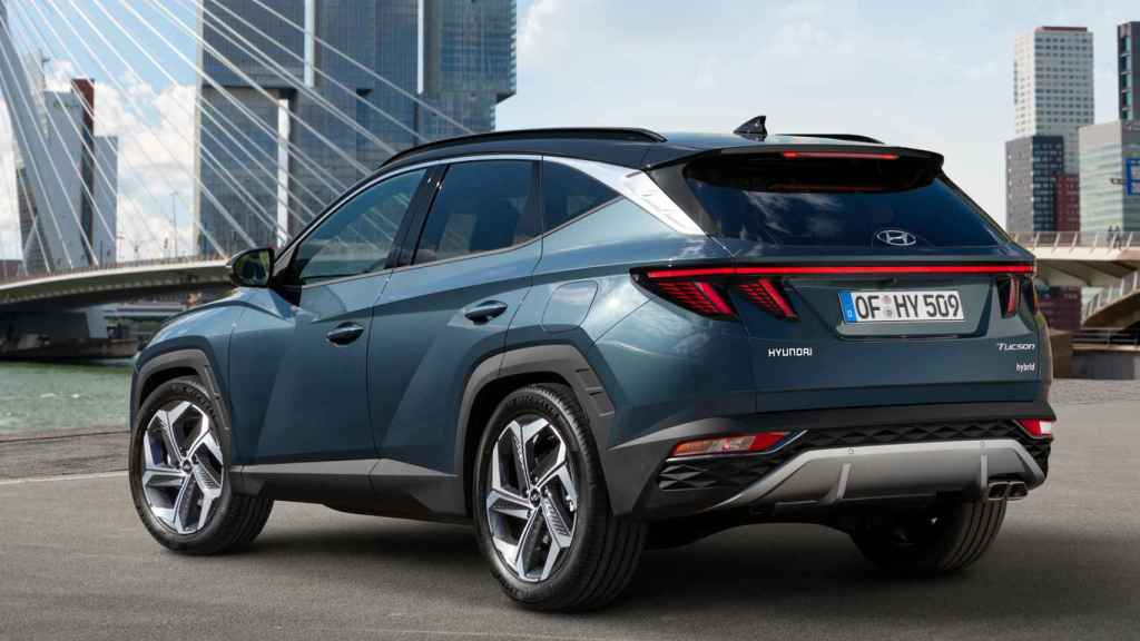Hyundai Tucson 2021 Nuevo Suv Hibrido Y Enchufable Con Etiqueta Eco Y Cero