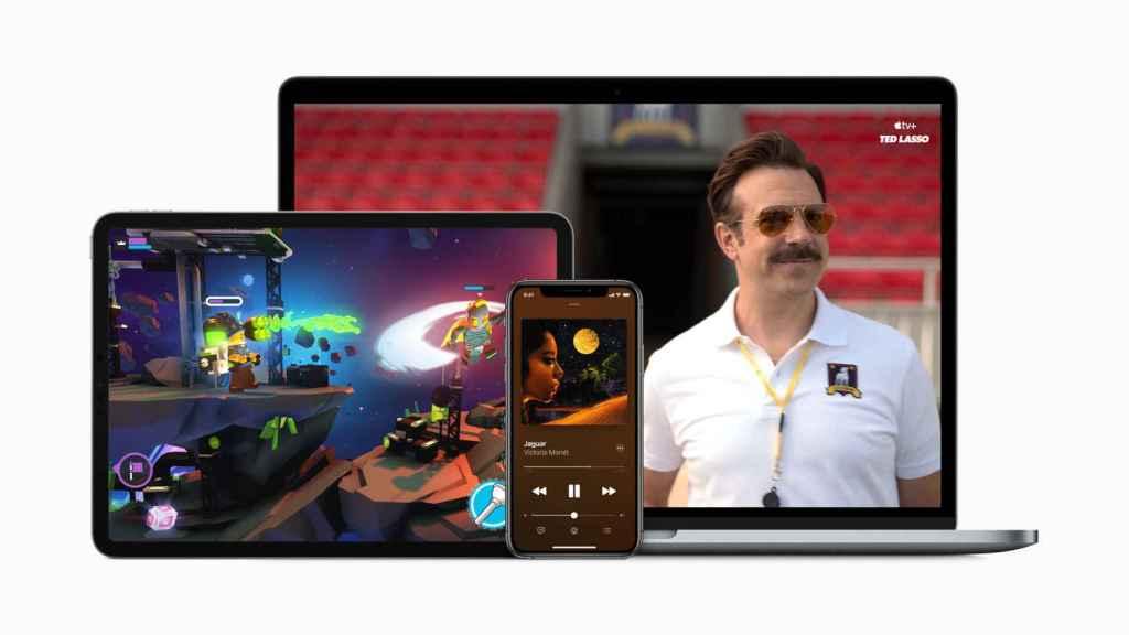 Apple One con el iPad, MacBook y iPhone