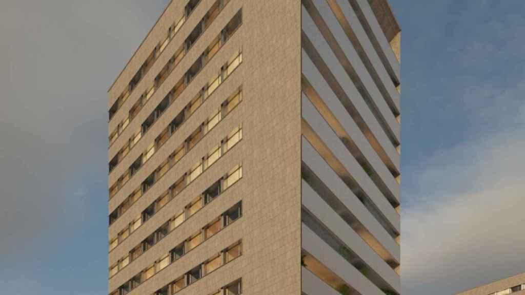 La futura promoción Atalaya de Aedas Homes en Pamplona.