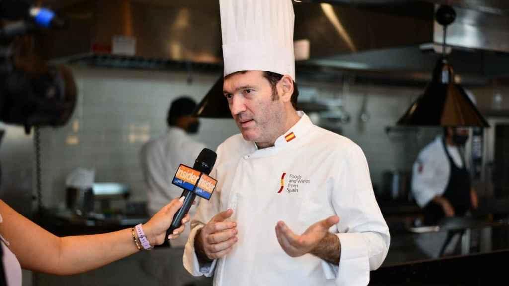 El chef Ager Urigüen