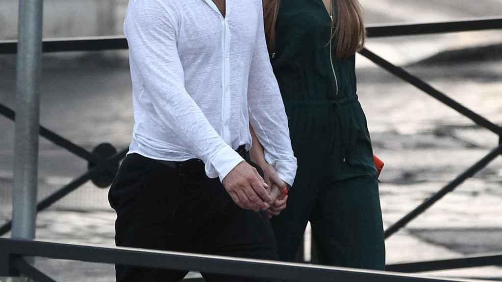 Jude Law y Phillipa Coan en imagen de archivo.