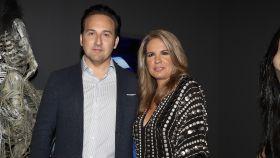 Carmen Porter junto a su marido Iker Jiménez en una imagen de archivo.