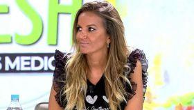 La colaboradora Marta López en 'Ya es mediodía'.
