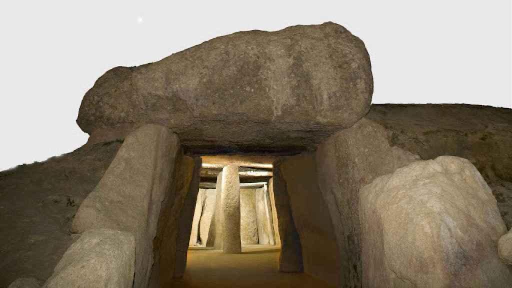 El famoso Dolmen de Menga.
