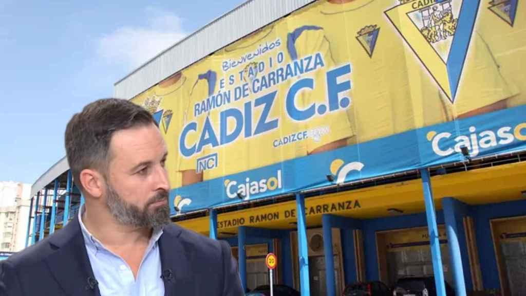 Santiago Abascal y el Estadio Ramón de Carranza
