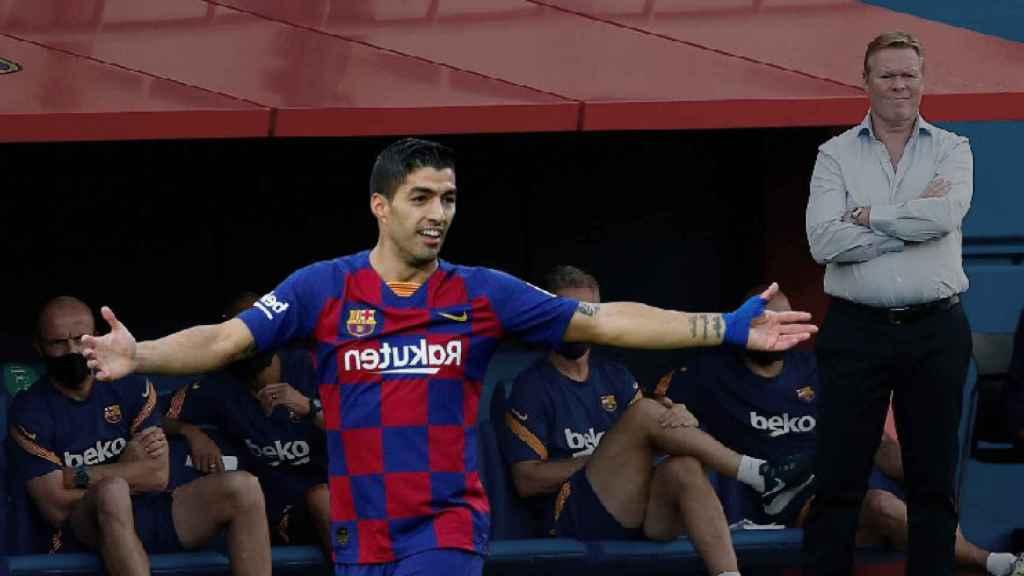 Luis Suárez y Koeman