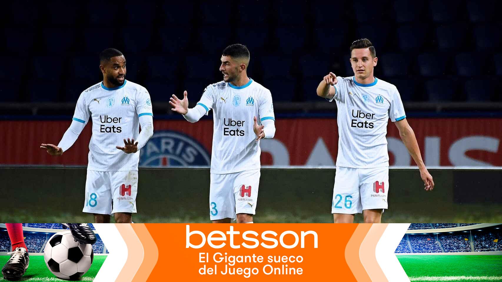 Gana 190 euros con el triunfo del Marsella en la Ligue-1 tras su polémica contra el PSG
