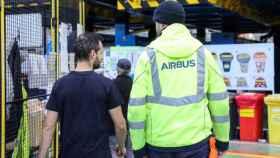 Trabajadores de Airbus. Imagen de archivo