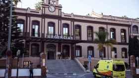 Fachada del Hospital Civil