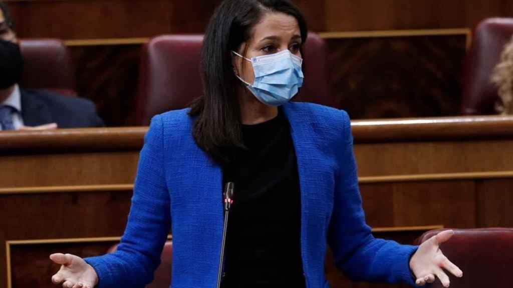La presidenta de Cs, Inés Arrimadas.