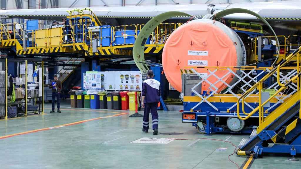 Instalaciones de Airbus.