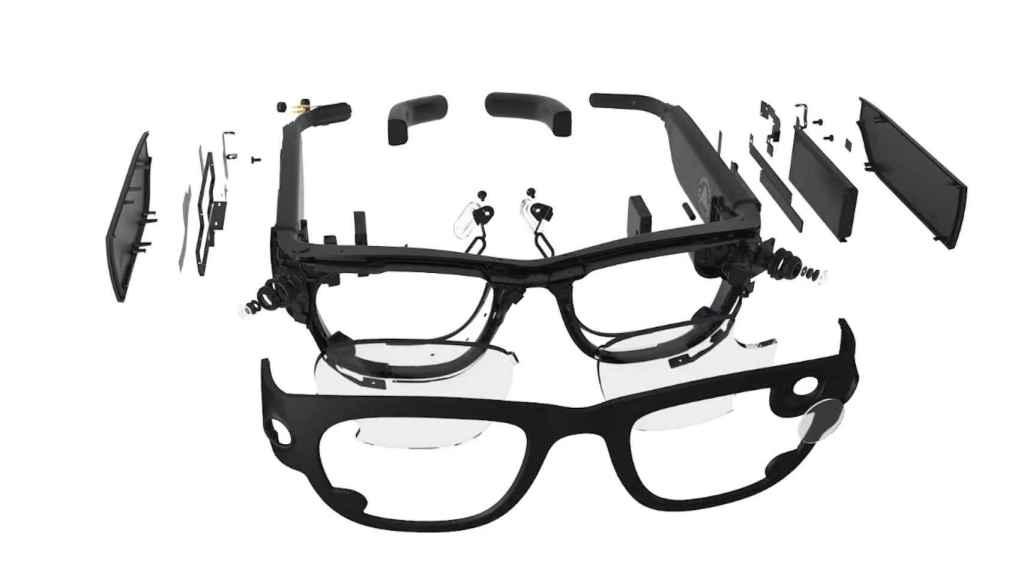 Primer prototipo de las gafas de realidad aumentada de Facebook