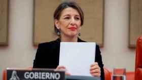 La ministra de Trabajo y Economía Social de España, Yolanda Díaz.