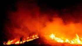 Incendio este verano en California.