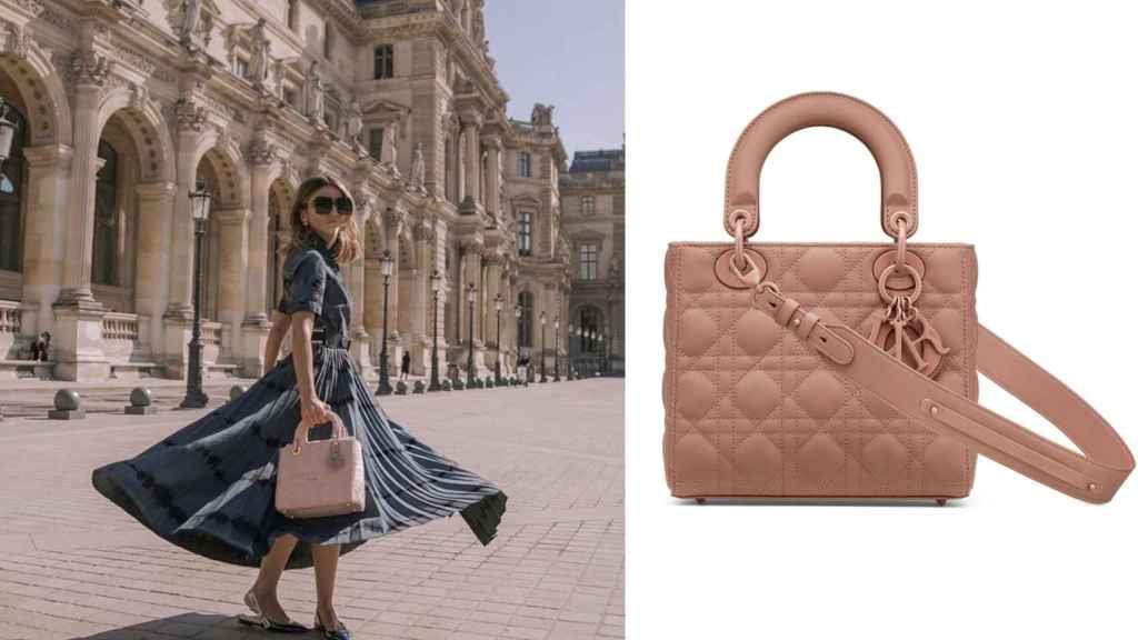 El estilismo y el bolso de 'Lady Dior' de Alexandra Pereira